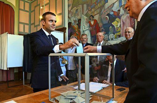 Macron triumphiert bei Parlamentswahl