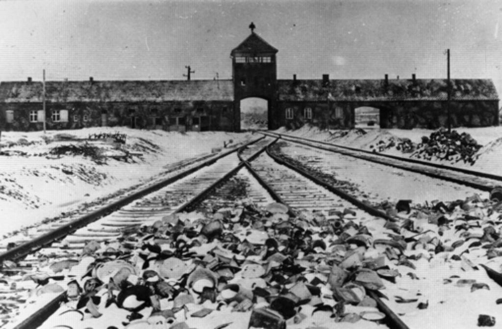 Auschwitz nach der Befreiung Foto: Bundesarchiv