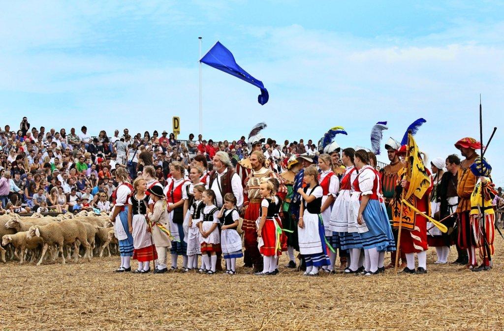 Der Schäferlauf ist eine Großveranstaltung mit bis zu 100 000 Zuschauern. Foto: factum/Archiv