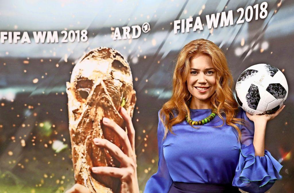 Palina Rojinski bringt dem deutschen Fernsehpublikum das russische Leben näher. Foto: dpa