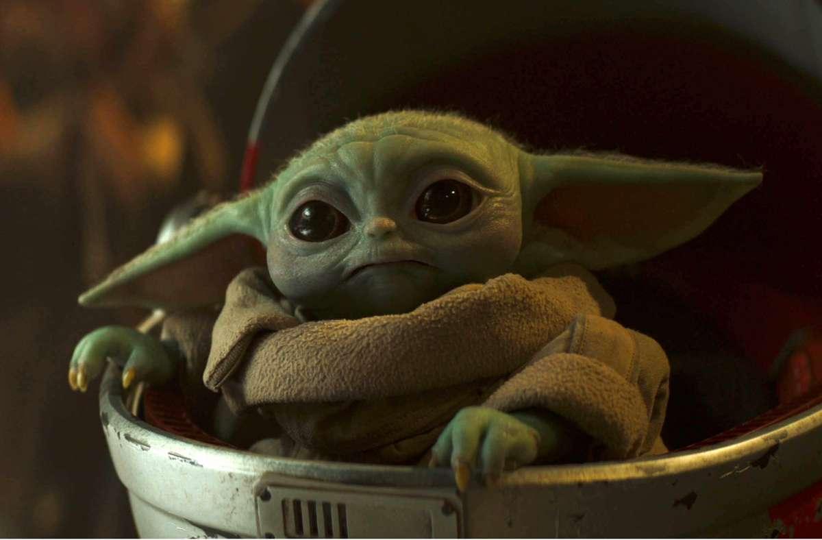 """Wieder der eigentliche Star der Serie aus dem """"Star Wars""""-Universum: Baby Yoda Foto: Lucasfilm/Disney+"""