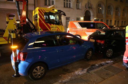 Drei Fußgänger bei Unfall verletzt