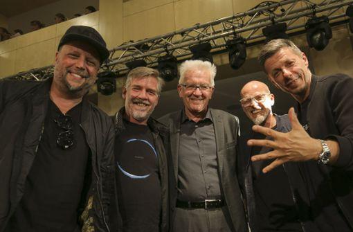 Die Fantastischen Vier feiern sich und Stuttgart