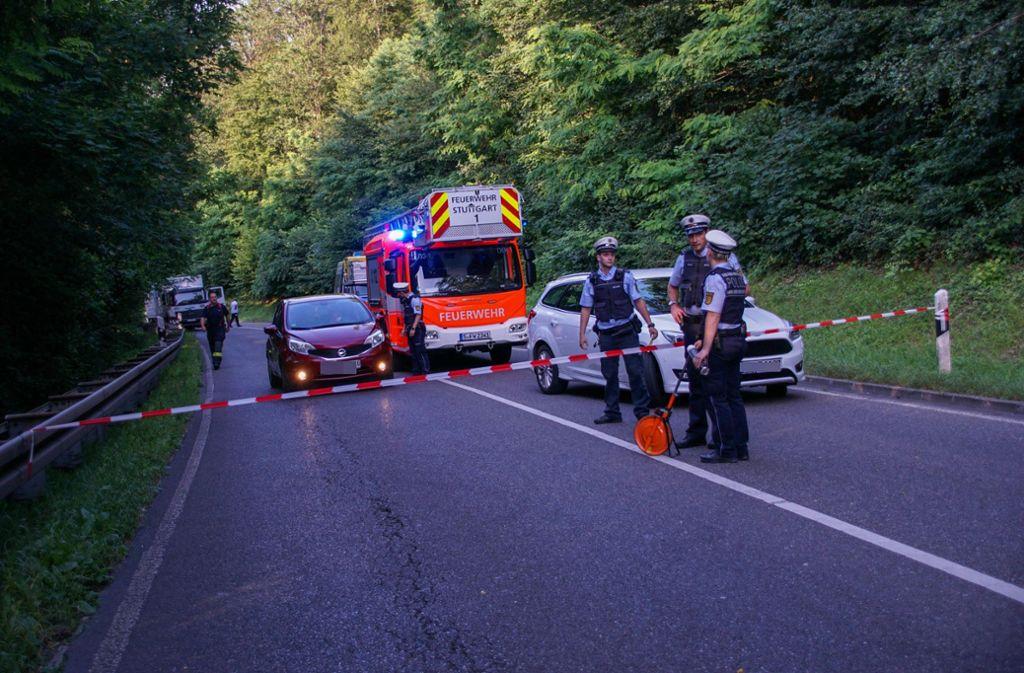 Bei einem Unfall in Stuttgart-Süd ist ein Rollerfahrer ums Leben gekommen. Foto: 7aktuell.de