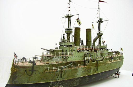 Schlachtschiff wird versteigert