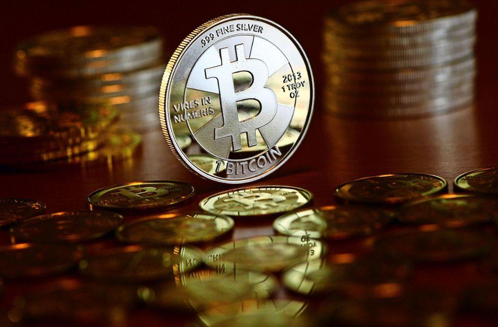 Bezahlt wurden die Bestellungen im Darknet mit der digitalen Währung Bitcoin. Foto: dpa