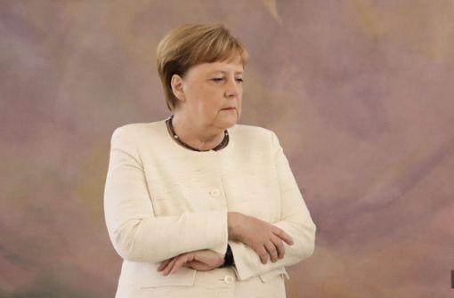 Sorge um Angela Merkel nach erneuter Zitterattacke
