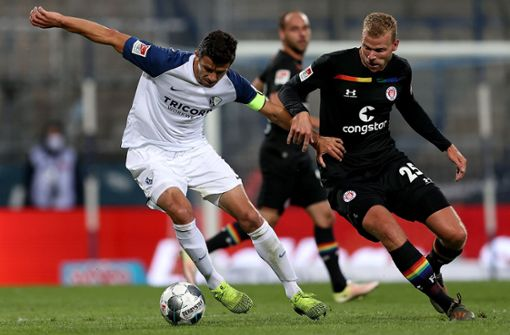 Bochum vergrößert St. Paulis Abstiegssorgen - Sandhausen nahezu gerettet