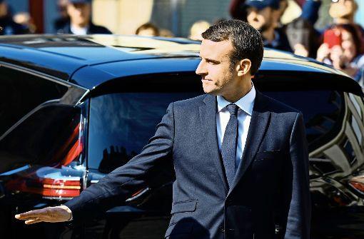 Macron stellt zur Parlamentswahl Vertreter der Zivilgesellschaft auf