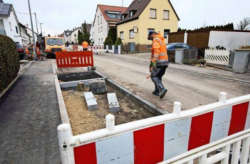 Sanierung der Lindenstraße fast fertig