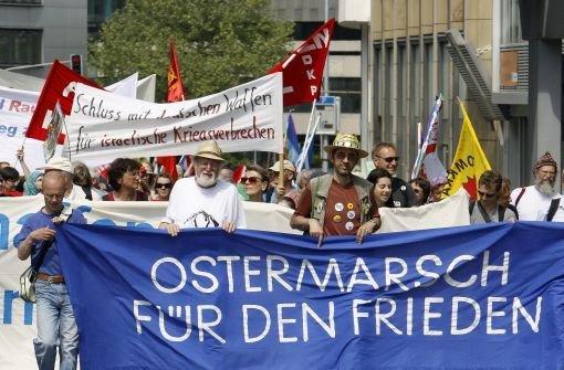 Ostermärsche gegen Krieg und Atomenergie