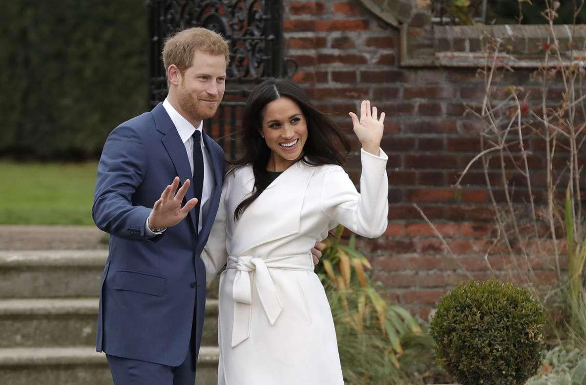 Der britische Prinz Harry und die US-amerikanische Schauspielerin Meghan Markle haben ihr zweites Kind bekommen. (Archivbild) Foto: dpa/Matt Dunham