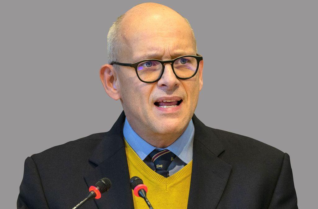 FDP-Fraktionschef Matthias Oechsner bei der Aussprache zum Haushalt. Foto: Lichtgut/Leif Piechowski