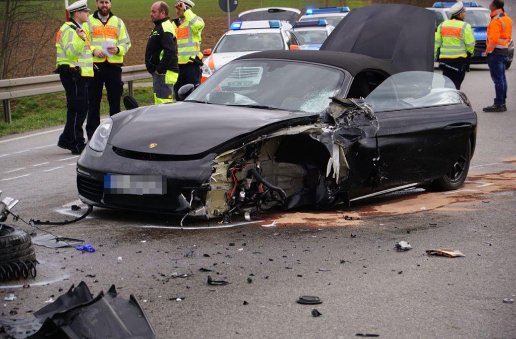 In Vaihingen an der Enz hat es am Mittwochnachmittag einen schweren Unfall gegeben. Foto: SDMG/Hemmann