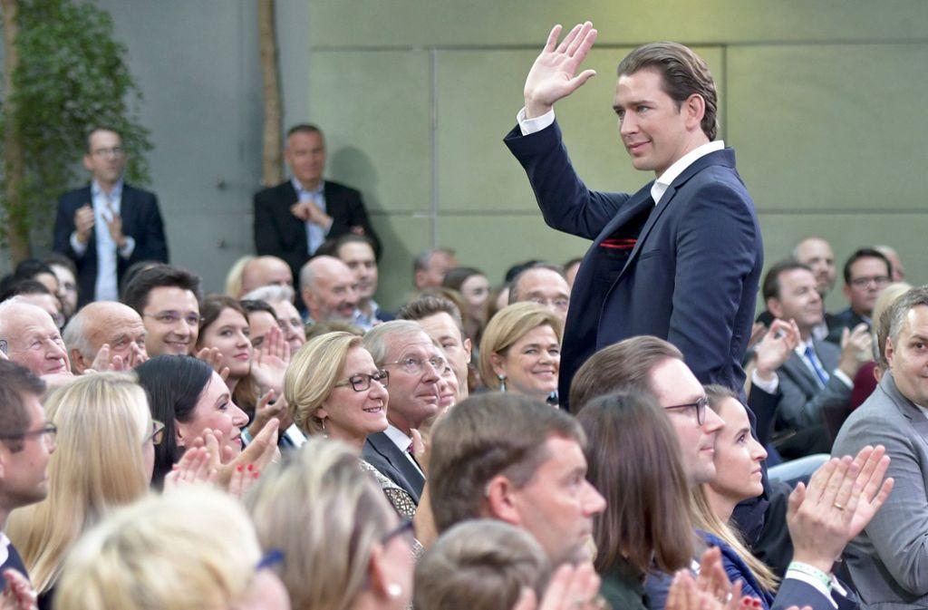 Der Prototyp des netten, rechten und besorgten Österreichers: Bundeskanzler Sebastian Kurz. Foto: APA