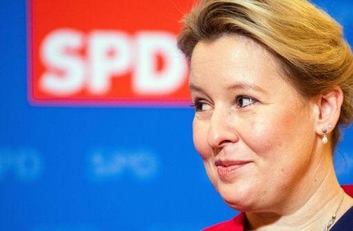 Franziska Giffey – Lokomotive oder Last für die SPD?
