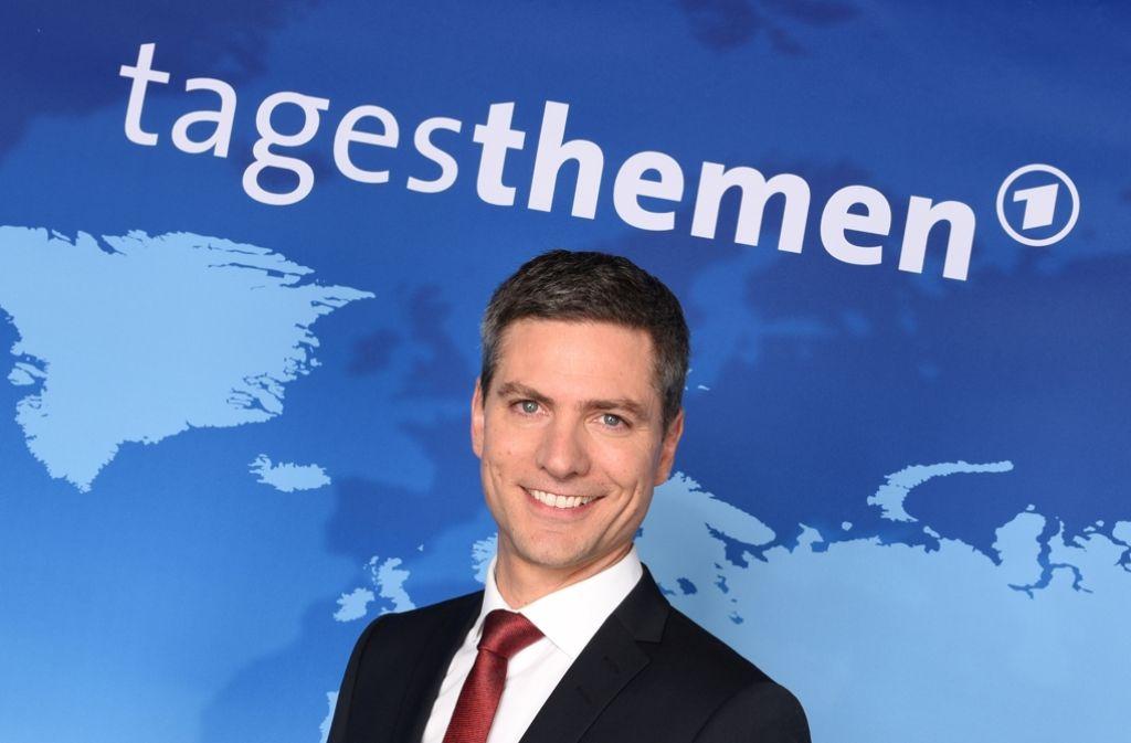 """Der neue Kopf der """"Tagesthemen"""": Ingo Zamperoni. Foto: dpa"""