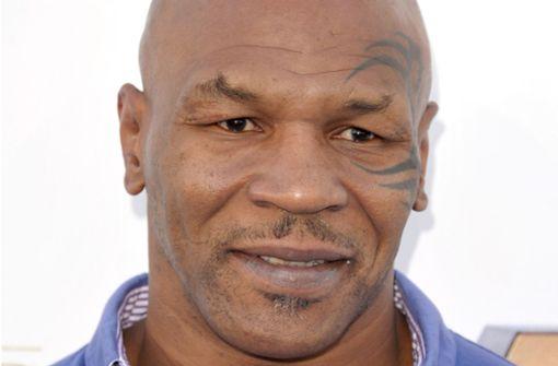 Für 300 Euro Mike Tyson  treffen