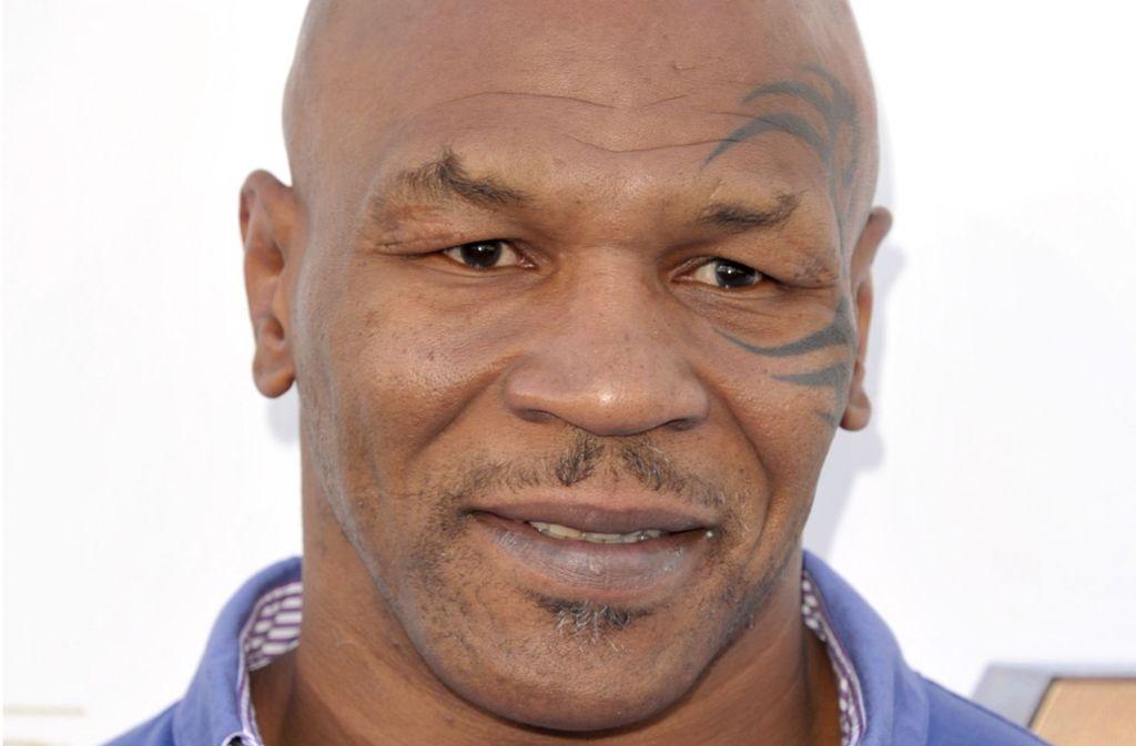 Boxer-Legende  Mike Tyson will auf einer Deutschlandtour über sein Leben sprechen. Foto: AP
