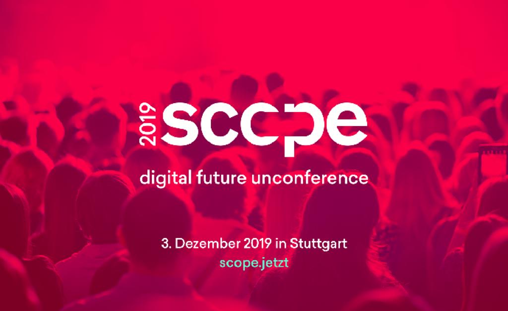 """Scope- The Digital Future Unconference findet am 3. Dezember in Stuttgart statt. Foto: Turbine Kreuzberg"