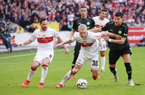 Der VfB Stuttgart ist Vizemeister  – in der Erfahrungstabelle