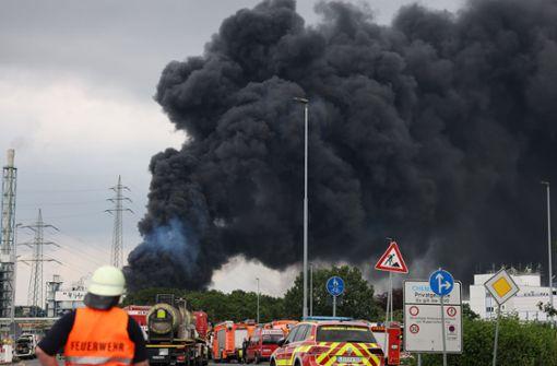 Explosion fordert mindestens zwei Tote und viele Verletzte