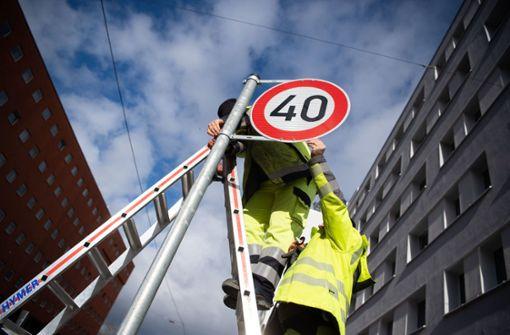 Mehrheit der Stadträte will mehr Tempo 40