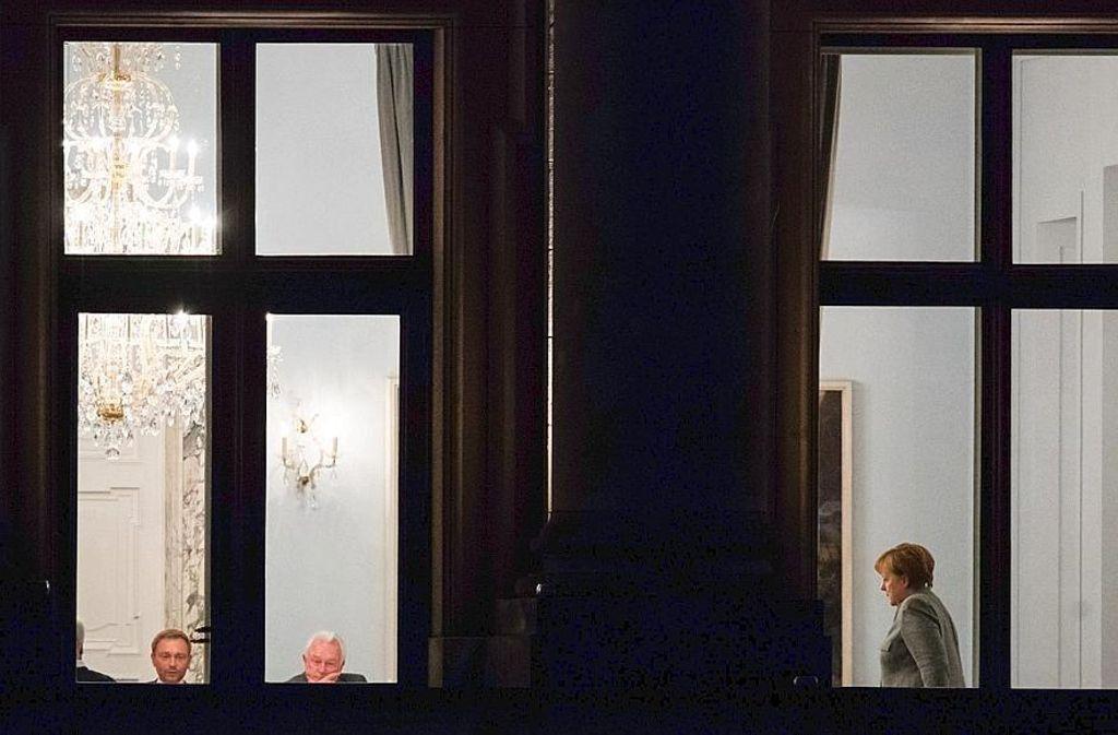 Nächtliche Sitzungen im alten Reichstagspräsidentenpalais haben die Unterhändler schon hinter sich – an diesem Sonntag folgt die entscheidende. Foto: dpa