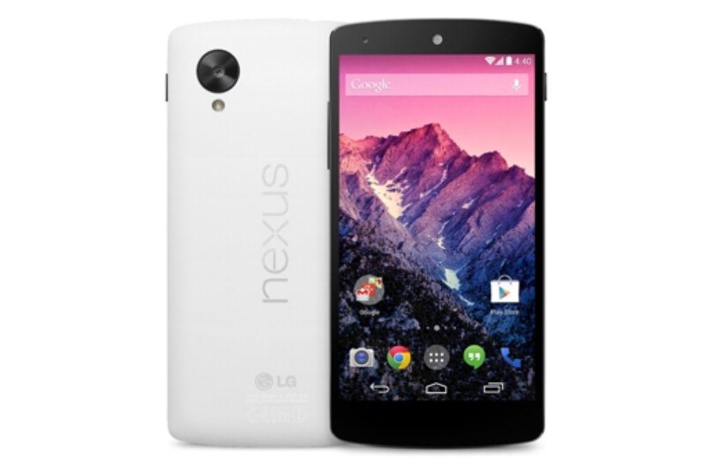Vergangene Woche präsentierte Google nicht nur das Android-Smartphone Nexus 5, sondern auch die neueste Version seines mobilen Betriebssystems – Android 4.4 KitKat. Foto: Google