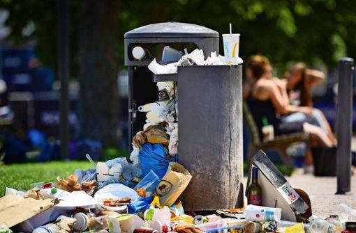 Stadt geht Müllsündern an den Kragen
