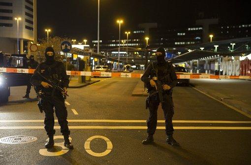 Festnahme am Flughafen Schiphol