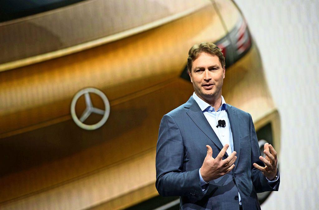 Daimler-Chef Ola Källenius ist am Mittwoch zu Gast in der Waldschule. Foto: dpa/M. Murat