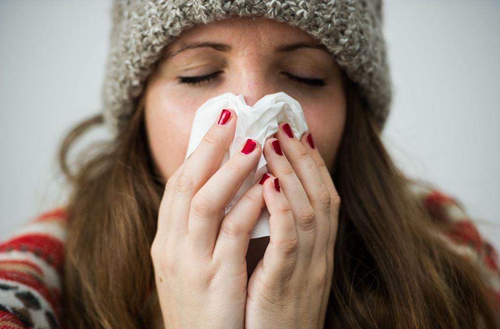 35 300 Fälle von Influenza gezählt – die Dunkelziffer gilt als hoch. Foto: dpa