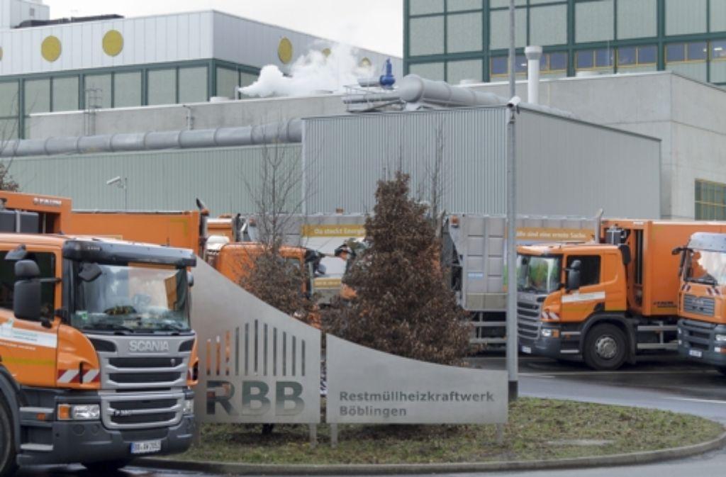 Im Restmüllheizkraftwerk wird umweltfreundliche Energie erzeugt. Foto: factum/Granville