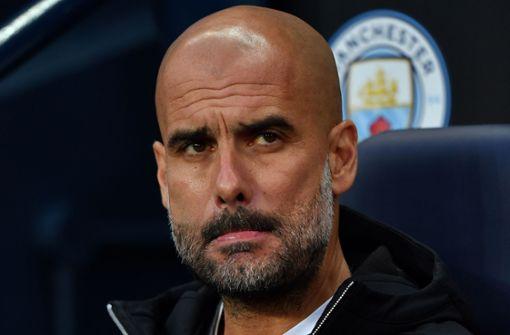 Guardiola-Team von Champions League ausgeschlossen
