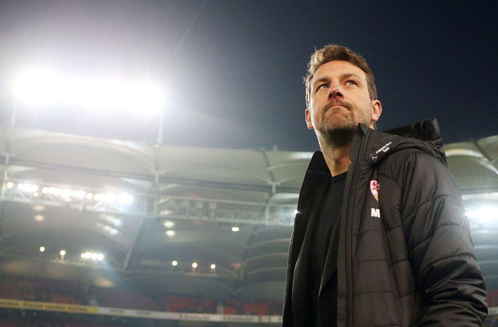 Markus Weinzierl ist seit Oktober Trainer des VfB Stuttgart. Foto: Baumann