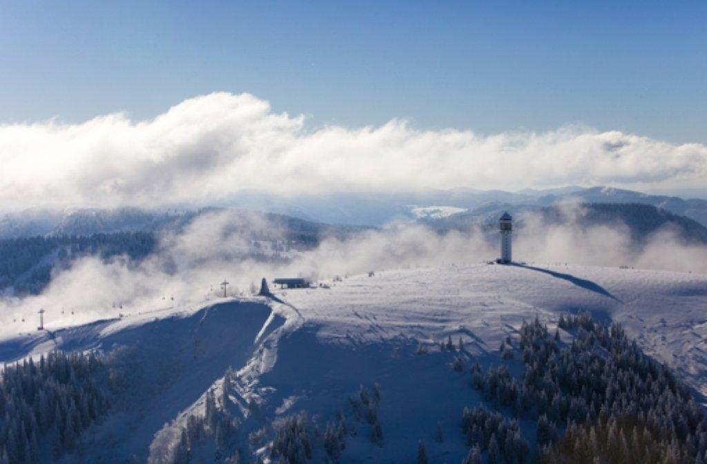 Feldberg Erster Schnee
