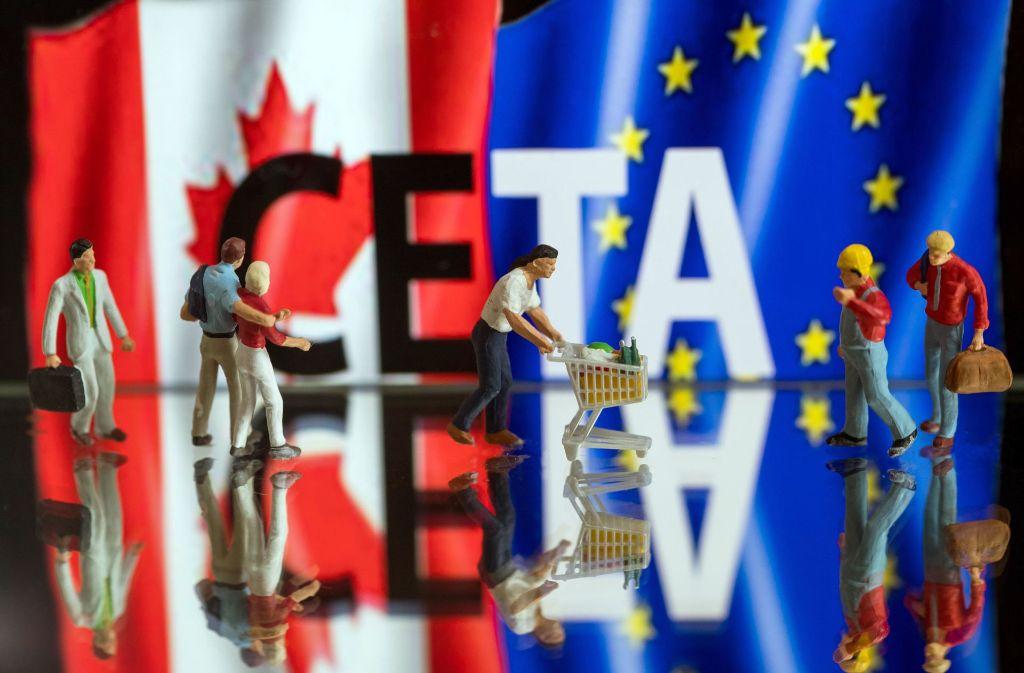 Das EU-Parlament hat für das Freihandelsabkommen Ceta gestimmt. Foto: dpa