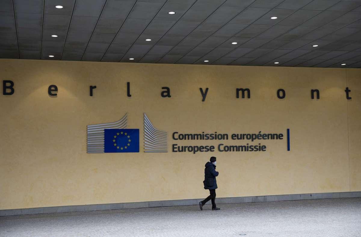 Die EU-Kommission bereitet ein Verfahren gegen Deutschland vor. Foto: dpa/Aaron Chown