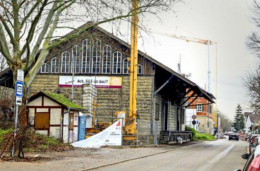Güterschuppen wird zum Hotel umgebaut