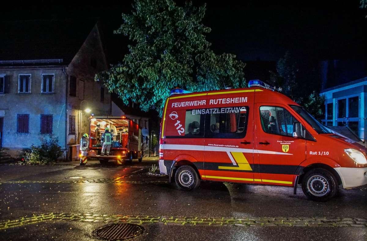 Die Feuerwehr war mit 35 Einsatzkräften vor Ort. Foto: SDMG/SDMG / Dettenmeyer