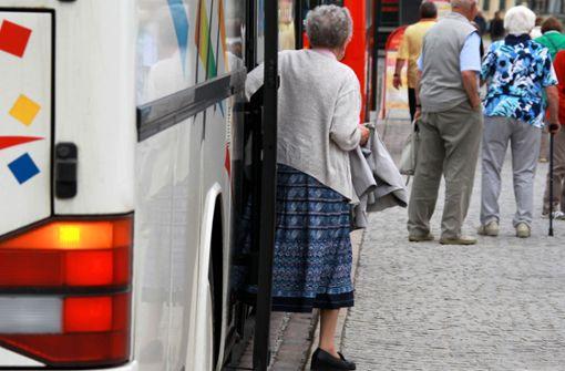 Deutscher Bus in Frankreich verwarnt