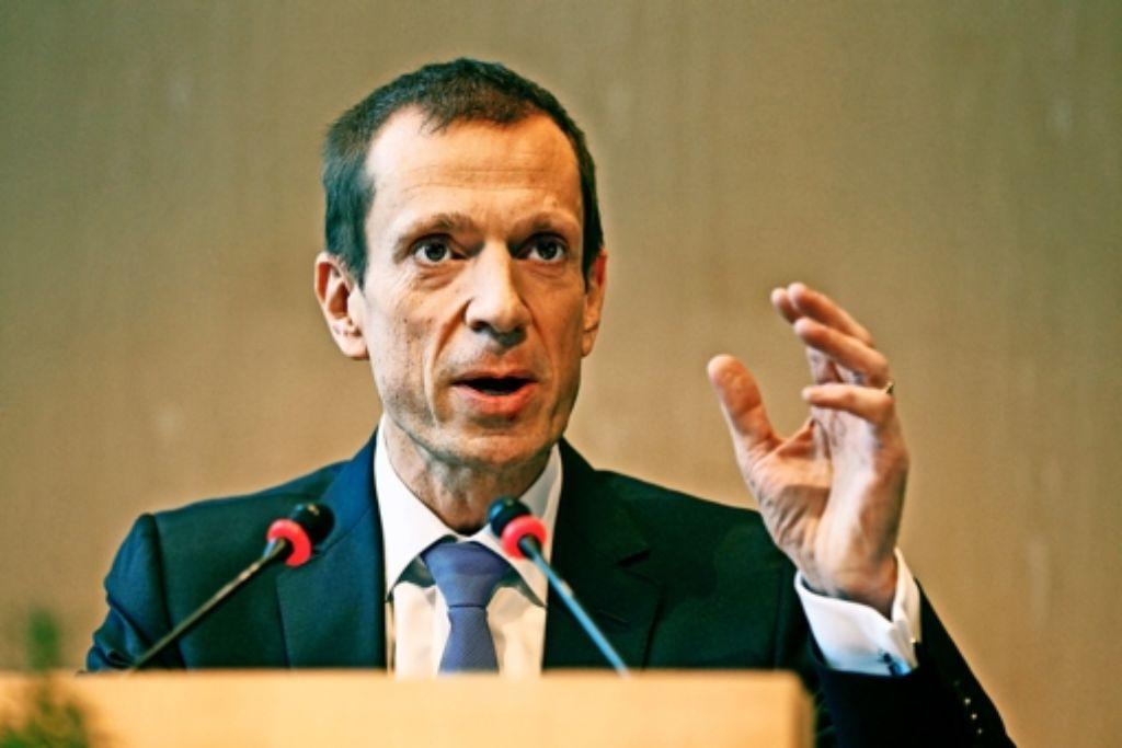 Alexander Kotz (CDU) hat sich Respekt verschafft. Foto: Lichtgut/Leif Piechowski