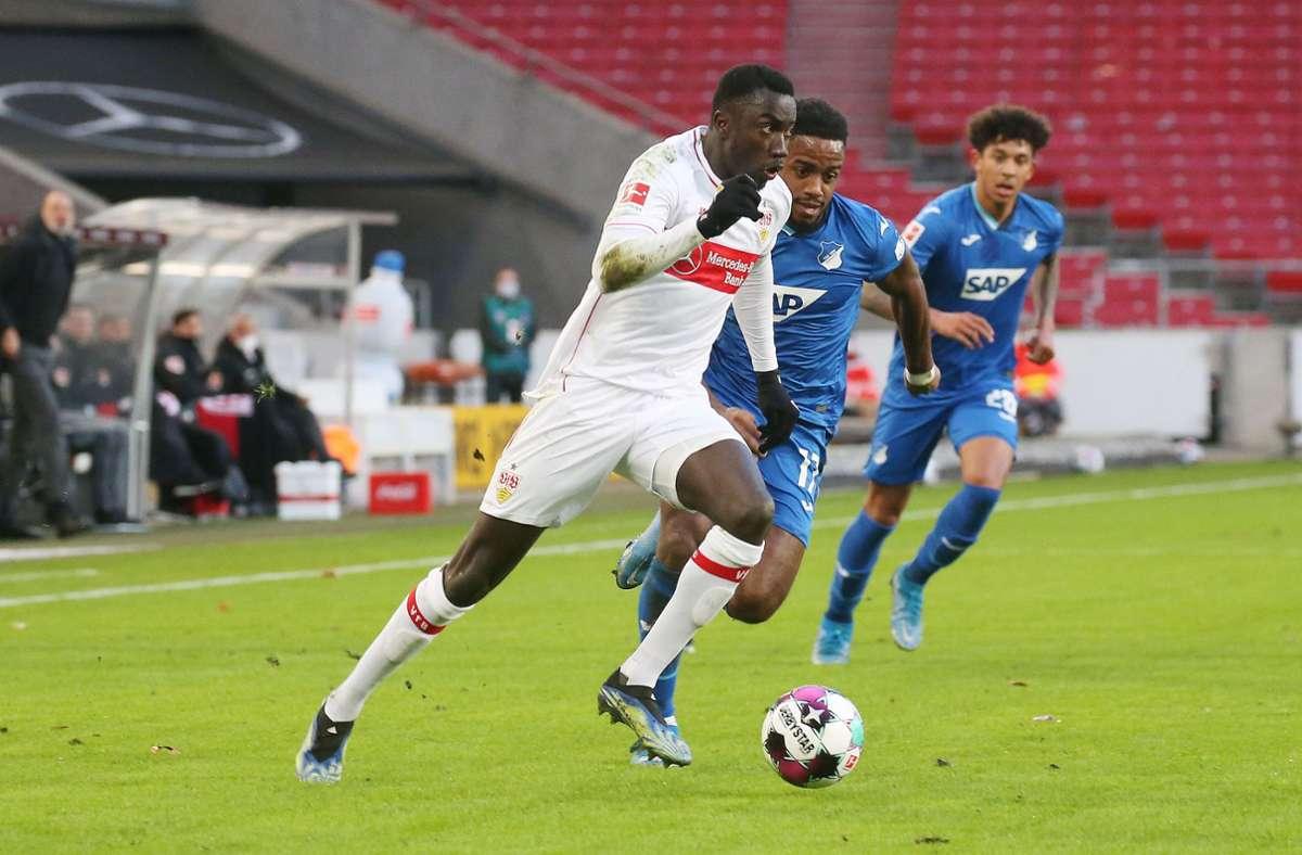 Silas Wamangituka zeigte eine starke Vorstellung gegen die TSG Hoffenheim. Foto: Pressefoto Baumann