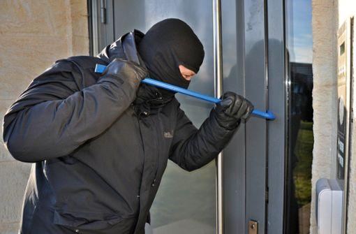 Einbrecher ergreifen die Flucht