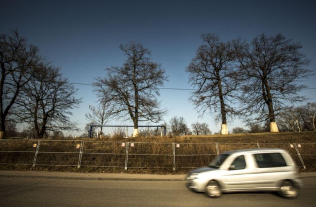 Die Baustelle Ehmannstraße bereitet der Bahn Probleme. Foto: Lichtgut/Leif Piechowski
