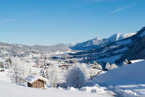 Winterwanderwege durchs ganze Tal.