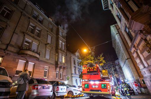 Wohnungsbrand an Weißenburgstraße sorgt für Aufregung