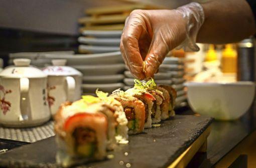 Eine Rumänin macht aus Sushi eine Leidenschaft