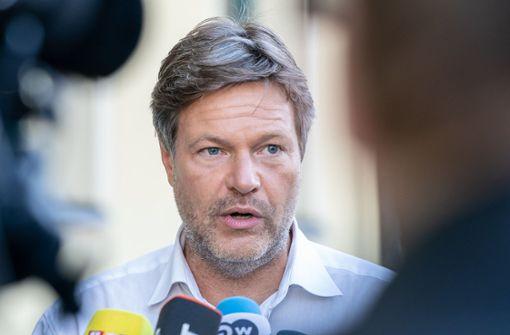 Habeck: Grünen-Spitze hat nicht damit gerechnet